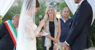 Hochzeitsfeier in Sizilien